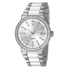 Esprit Feather Ladies Date Display Watch - ES106052002 | Buy Ladies Watches Online - oo.com.au