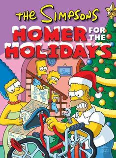 Tis the season for a holly jolly jubilee of winter wonderment from Matt Groening, the naughty but nice creator of The Simpsons. Join in the frosty fun and prepare to be wassailed with letters to Santa