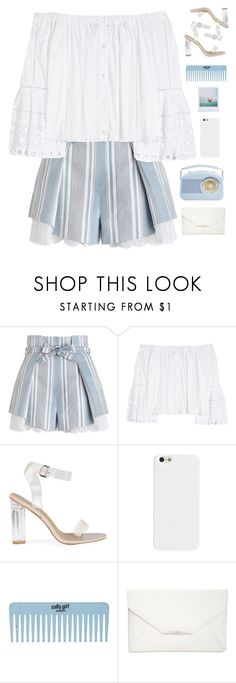 """""""Let's go to the beach """" by genesis129 ❤ liked on Polyvore featuring Zimmermann, Carolina Herrera, Style & Co. and Polaroid"""