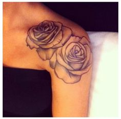 Love this tattoo. Mama alway loved roses