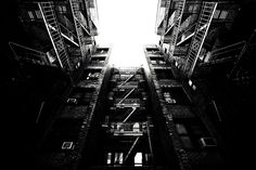 Escape by wbsloan, via Flickr Tower Of Babel, Modern Architecture, Stairs, Explore, Black And White, Stairway, Black N White, Black White, Modernism