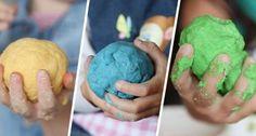 Essbare Spielknete für Kinder – Selbermachen ohne Kochen