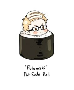Sushi Haikyuu!! (Anime, Deportes, Shonen, Volleyball)
