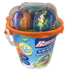 Slime Bombs Splat Set, Multicolor Fabric Covered, Slime, Bucket, Walmart, How To Make, Color, Products, Colour, Buckets