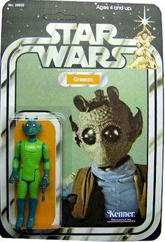 Kenner Star Wars Figure - Greedo - next wave after the original 12
