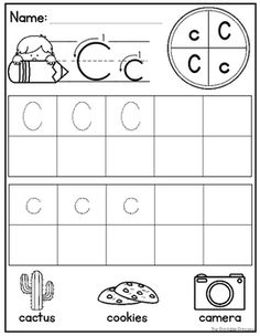 Alphabet Worksheets  Tracing Identifying Letters And More  Abc
