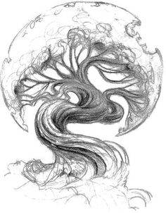 would look sweet as a moon or the earth on round part of the tree with a cool galaxy scene above
