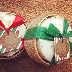 Christmas natural soap www.jabonessavon.com