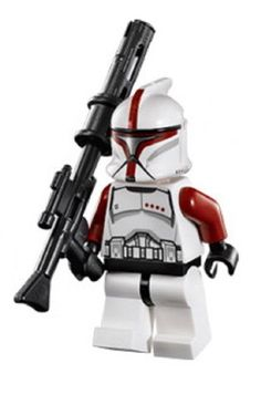Lego Star Wars Minifigure Red Clone Trooper Captain from Republic Gunship 75021 >>> Want to know more, click on the image.Note:It is affiliate link to Amazon.