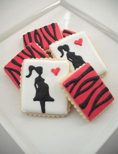 Baby shower cookie design :) Repinned By:#TheCookieCutterCompany