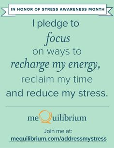 I just took the @meQuilibrium pledge because I refuse to stress this month. Join me! https://www.mequilibrium.com/addressmystress-pinterest/