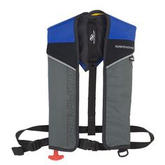 SOSpenders 1431 24G A/M Easy Repack Inflatable Vest - Blue