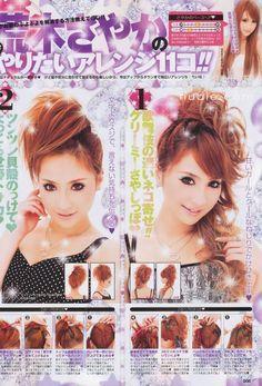 Gyaru Hair Ideas!!