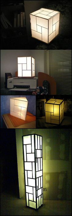 Learn how to make your own Japanese style lamp  http://craft.ideas2live4.com/2015/08/22/make-your-own-japanese-lamp/  These lamps are great for providing soft lighting. They're also good for bedtime reading or adult pillow-talk :).   Why buy costly Japanese lamps when you can DIY? Achieve the same look using only common and inexpensive craft materials!