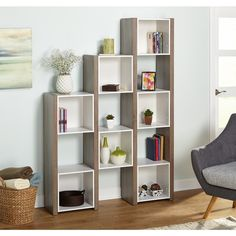 Simple Living Urban Room Divider/Bookcase