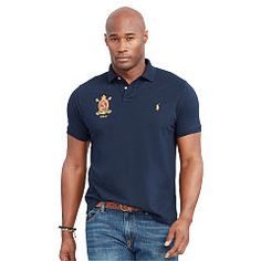 Classic-Fit Featherweight Polo - Big & Tall Classic Fit - RalphLauren.com