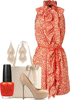 """""""Spring Dress"""" by ljjenness on Polyvore"""