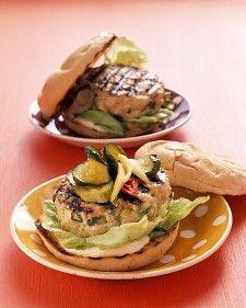 Favorite Turkey Burger - Martha Stewart Recipes