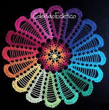 Designer Spotlight: More Than 20 Magical Mandela Patterns For Crocheters To Choose From! Crochet Coaster Pattern, Crochet Purse Patterns, Crochet Mandala Pattern, Flower Patterns, Pattern Flower, Crochet Home, Crochet Crafts, Crochet Yarn, Crochet Stitches