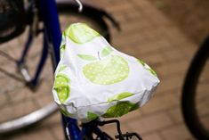 Anleitung – Sattelschutz fürs Fahrrad nähen › Anleitungen, Do it yourself ›…
