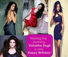 Happy Birthday Vishakha Singh