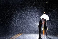 Love is in the rain - wonderful magic moments - Free Image Download - High Resolution Wallpaper