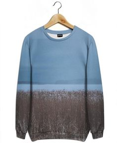 The Reeds as All-Over Print Sweatshirt by Pale Grain | JUNIQE