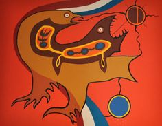 Artist: Jackson Beardy, Title: Our Language
