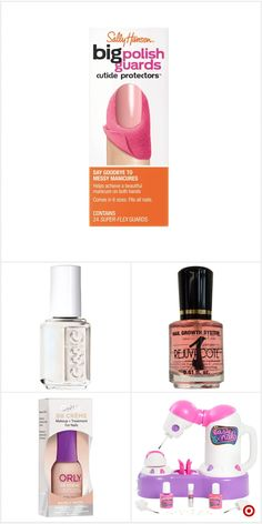 Shop Target for nail beauty treatment you will love at great low prices. Free shipping on orders of $35+ or free same-day pick-up in store. Cute Nails, Pretty Nails, Gorgeous Nails, Hair And Nails, My Nails, Grow Nails, Sally Hansen Nails, Nail Tips, Nail Hacks