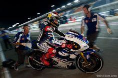 Qatar practice round, MotoGP 2012