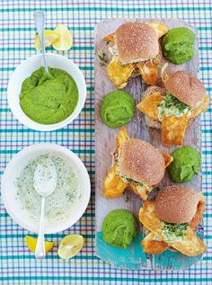 jamie oliver - The best fish baps with mushy peas & tartare sauce  Read more at http://www.jamieoliver.com/recipes/fish-recipes/the-best-fish-baps-with-mushy-peas-tartare-sauce/?utm_source=SilverpopMailing&utm_medium=email&utm_campaign=Simple%20weeknight%20suppers%20(1)&utm_content=#eFdjRfwDPsxdRQ1c.99