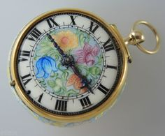 IMPORTANT-Early-Enamel-Pocket-Watch-by-HELOT-Amsterdam-c1680 - listed at $43,000