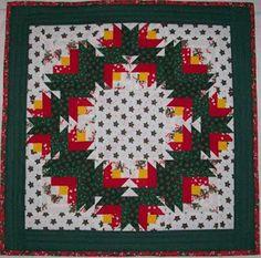Scrapbox Quilts: Christmas Rose Wreath
