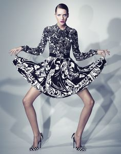 Iris Egbers for Numéro Tokyo / January 2012 / Photo by Denise Boomkens