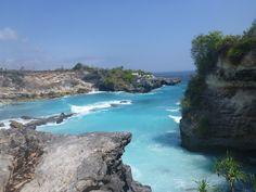 Blue lagoon, Nusa Ceningan, Indonesia