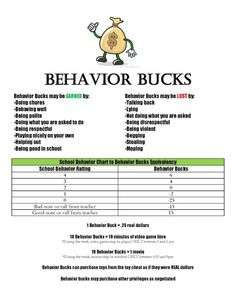 Point system for our 8-year old using play money. It has helped his behavior SO much!