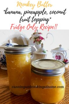 Banana, Pineapple, Toasted Coconut and Lemon all mix together to create a sublime fruit butter, topping. Dutch Oven Bread, Bacon Jam, Cake Fillings, Maple Bacon, Everything Bagel, Homemade Sauce, Cook At Home, Toasted Coconut, Butter Recipe