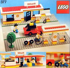 Lego 377-1 Shell Service Station