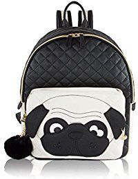 Pug Betsey Johnson Backpack