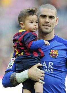 El meta culé dejó atrás su lesión y volvió a saltar al césped del Camp Nou.