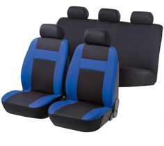 Autositzbezug Cruise schwarz blau