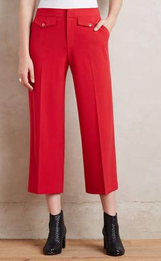 Chancellor Cropped Trousers #anthrofave