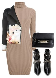 """""""Untitled #4419"""" by amm-xo ❤ liked on Polyvore featuring Rumour London, Givenchy, Yves Saint Laurent and Proenza Schouler"""