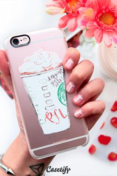 Click to see more iPhone 6 phone case designs by @simplyjessicam >>> https://www.casetify.com/simplyjessicamarie/collection #coffee | @casetify