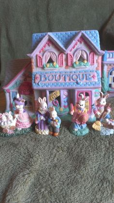 Easter House Cottontail Lane Boutique Midwest of Cannon Falls