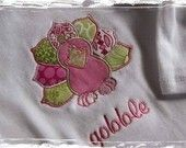 Machine Embroidery applique Design - Thanksgiving Turkey
