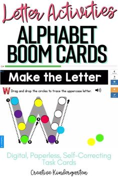 Reinforce uppercase and lowercase letter recognition, letter formation, and letter sounds with hands-on and engaging Boom Card activities. These digital task cards will work on learning to identify and name the letter U. Use this deck for letter of the day, letter of the week or all year to reinforce alphabet knowledge. This pack includes activities for uppercase and lowercase letters, letter discrimination, letter sounds, letter building, and sorting. Letter Of The Day, Letter W, Alphabet Writing, Letter Formation, Uppercase And Lowercase Letters, Letter Recognition, Alphabet Activities, Letter Sounds, Lower Case Letters