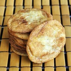 Soft and Chewy Snickerdoodles - all butter and not part shortening as many recipes use is the key to these crisp, chewy and very addictive cookies. Eating just one can be a challenge.