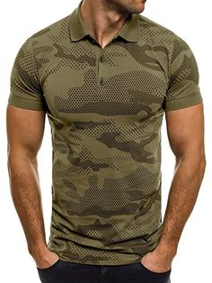 75566af444 OZONEE Herren Herren Poloshirt Polohemd Polo T-Shirt Kurzarm Figurbetont  ZAZZONI 1055 Grün M: Amazon.de: Bekleidung
