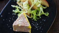 Foie gras-terrine og salat med æbler | Femina
